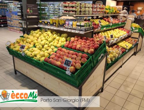 ECCOMI Supermercati Porto San Giorgio (FM)• COMBO per ortofrutta stile COAL