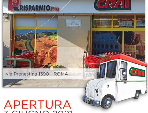 Riaparmio Più CRAI via Palestrina (RM)• il format Crai non si dimentica!